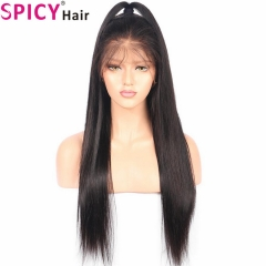 Spicyhair 200% density  Silky straight 360 lace wig