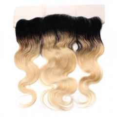 Spicyhair 100% No tangle 1b/613 Blonde Bodywave Frontal