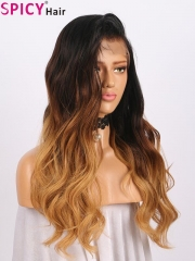 Spicyhair 150% density discount Ombre bodywave lace front wig