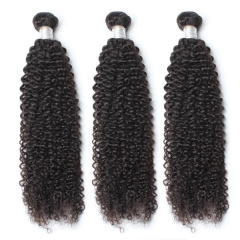 Spicyhair 100% 10A Virgin Human Hair No Tangle Kinky Curly 3 Bundles
