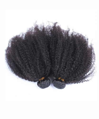 Spicyhair 10A 100% Virgin Human Hair Afro Kinky Curly 2 Bundles
