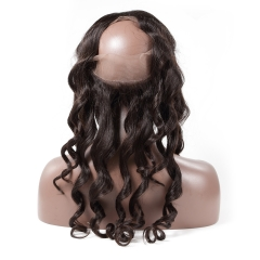 Spicyhair High Quolity Virgin Human Hair Loose Wave 360 Frontal