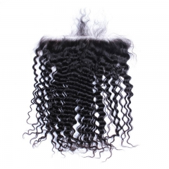 Spicyhair 100% Human Hair  Tangle Free Selling directly from Factory Deep Wave 13x6 Frontal
