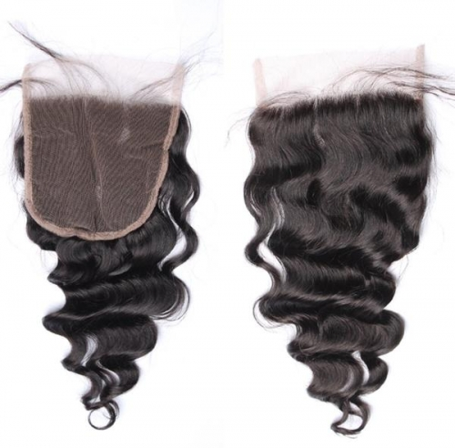 Spicyhair  10A Top Quality Wavy 5×5 lace closure Selling directly from Factory