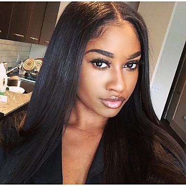 Spicyhair 200% density seamless supprised you Silky straight human hair full lace wig