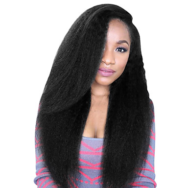 Spicyhair 200% density no shedding kinky straight full lace wig