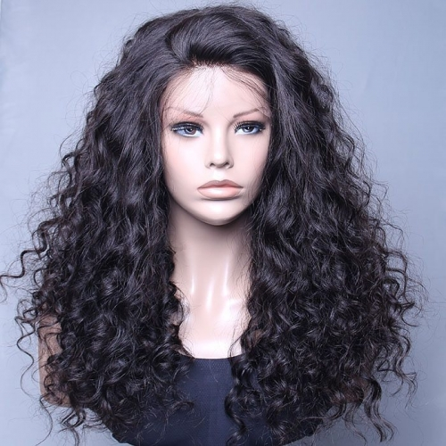 Spicyhair 200% density Tangle Free  No Shedding Fashion Looking Curly full lace wig Best Quality Wig With Good price  selling directly from fac