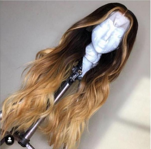 Spicyhair 150% density Good Quality Good Looking Umbre Body Wave full lace wig no shedding and tangle free 2-4days shipping via DHL