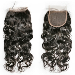 Spicyhair  10A Top Quality Water Wave 5×5 lace closure best quality with good price human hair