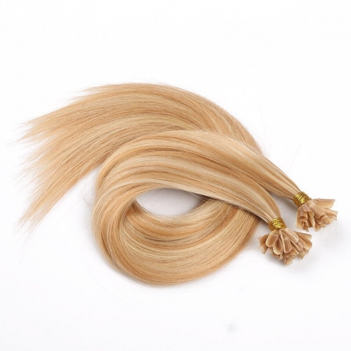 Spicyhair Top Quality Virgin Human Hair #613 #27 Straight U-tips tangle free 100%  human hair
