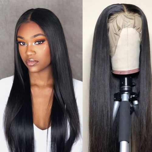 Spicyhair 300% High Quality No shedding free shipping straight lace front wig