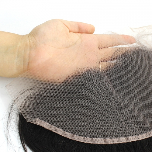 Spicyhair 10A Top Quality 100% Human Hair Straight HD Lace Frontal Tanglefree no shedding.